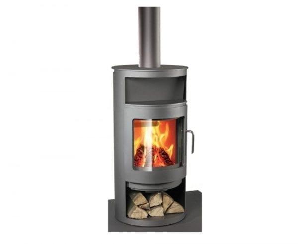 Built Prefab Modular Homes Rais Fireplace Photo