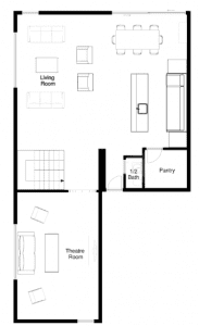 Built Prefab Floorplan Rendering