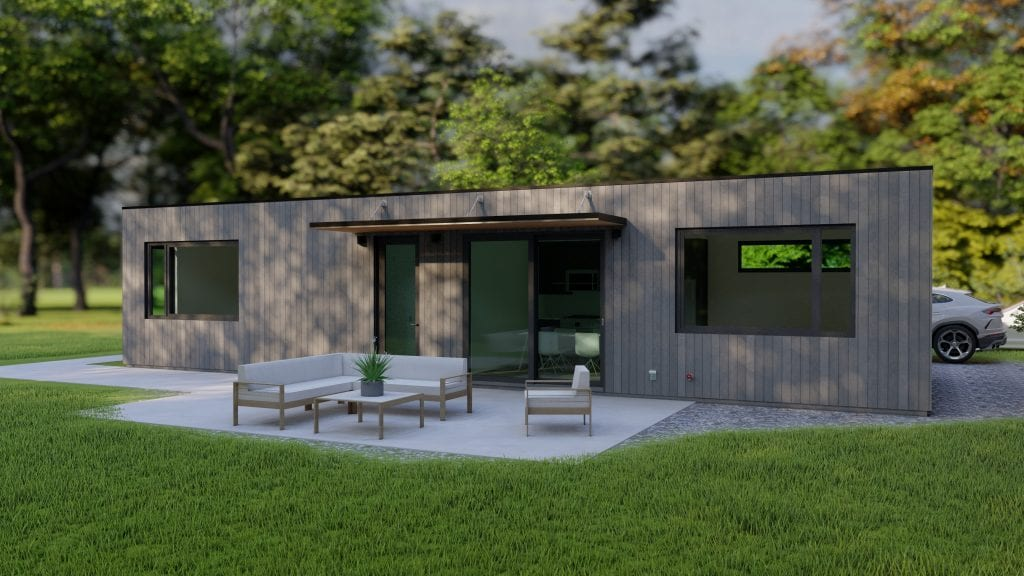 Flat and Low Slope Roof | Prefab Cabins BC | Modular home | Built Prefab